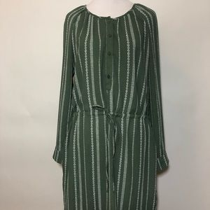 NWT GAP GREEN DRESS